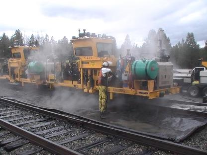 Burlington Northern Equipment Wash